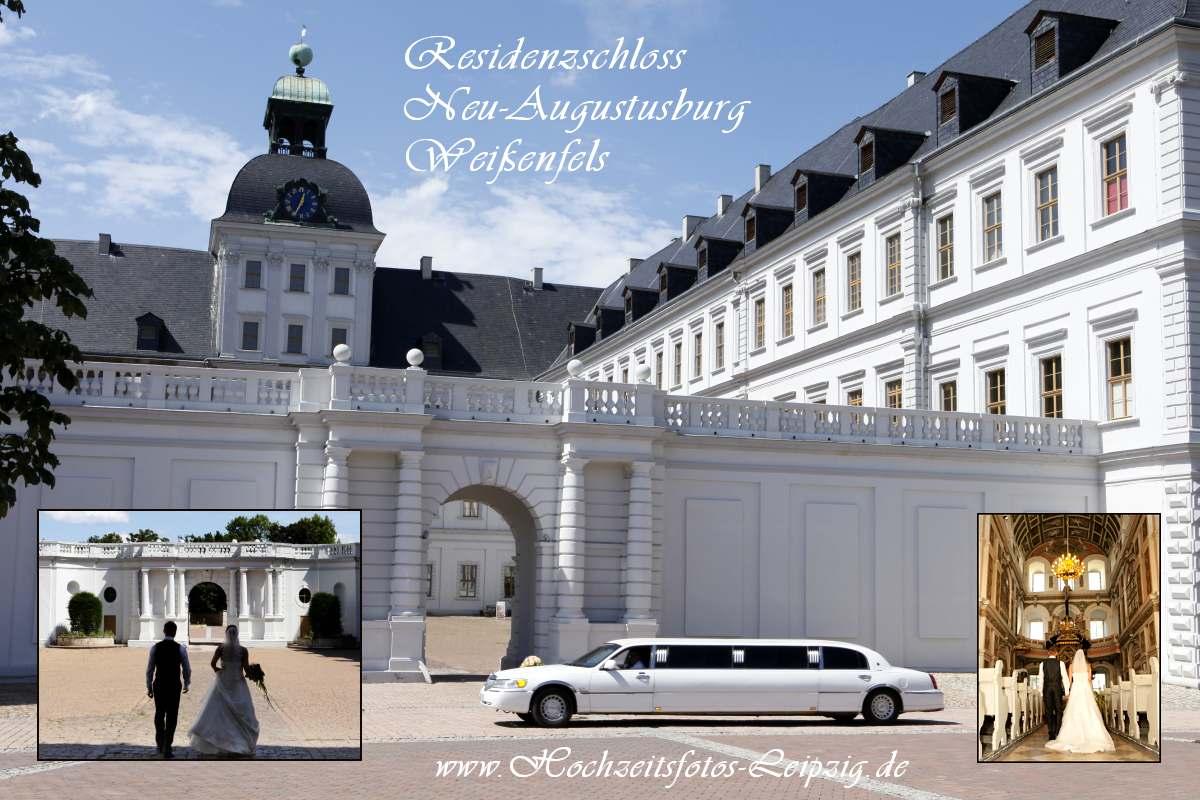 Klassische Hochzeitsfoto (Hochzeit Weissenfels)