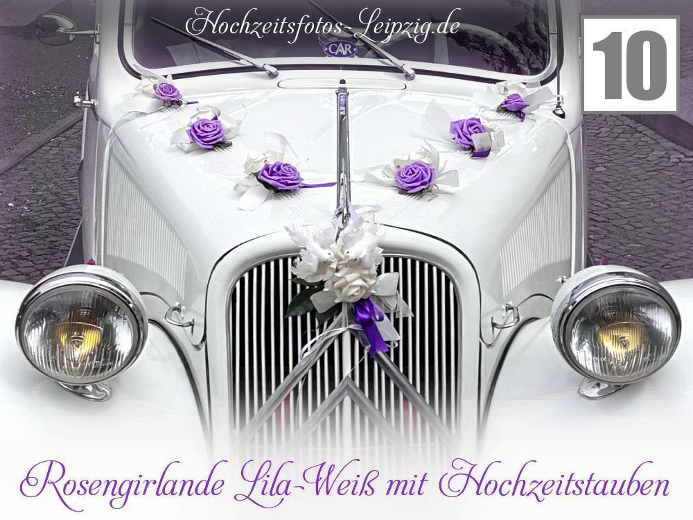 Foto Hochzeit Autogesteck Colditz (Hochzeitsfloristik Autodeko)