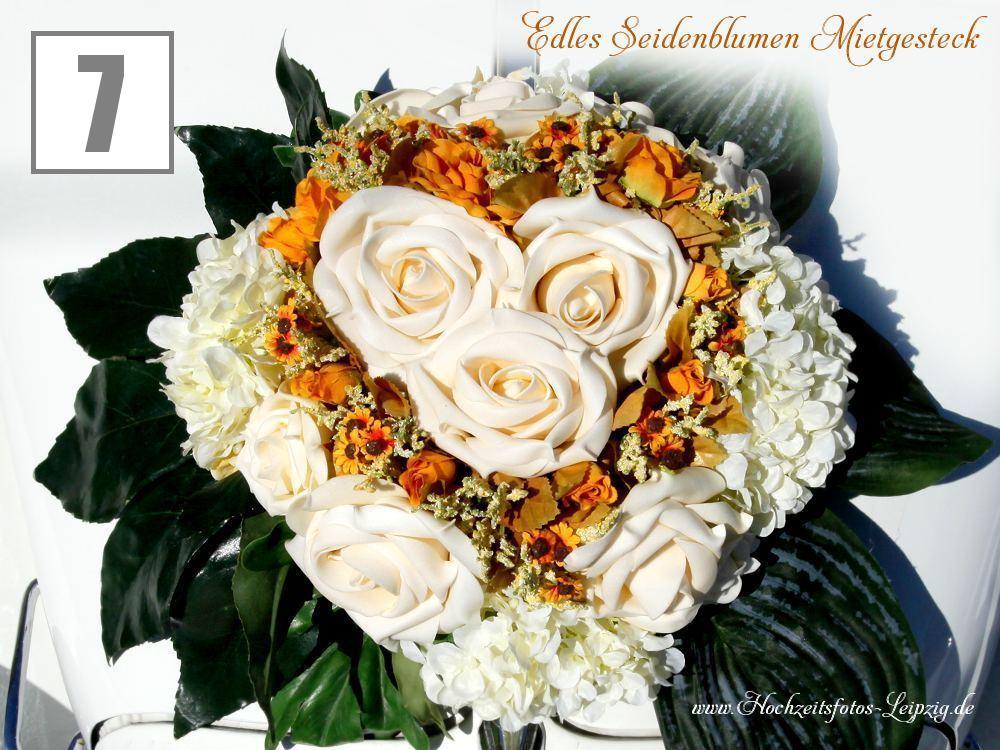 Hochzeitsauto Rosenherzen Creme Apricot  Farben