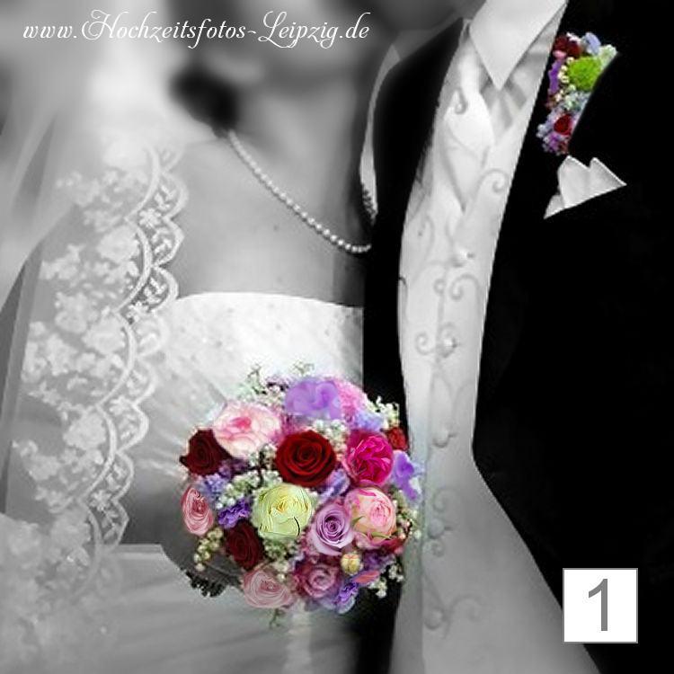 Hochzeitsfoto Brautstrauß Leipzig (Hochzeitsfloristik)