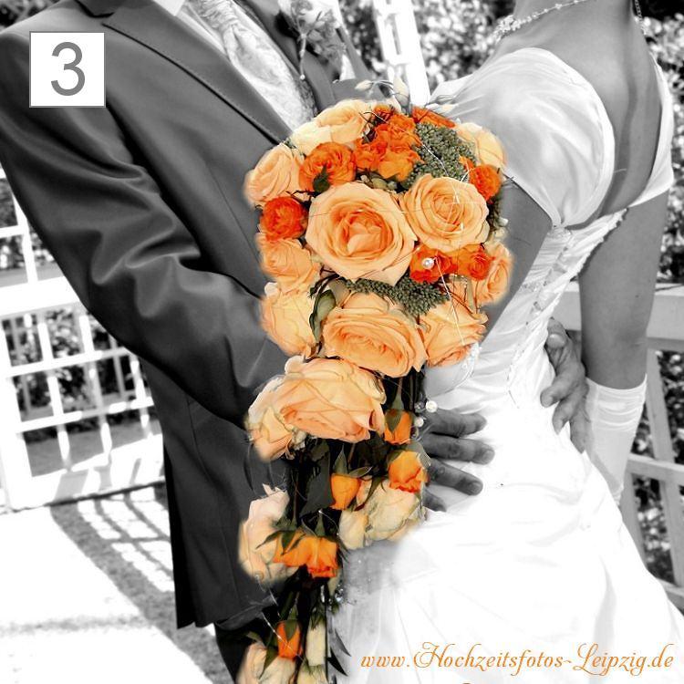 Hochzeitsfoto Brautstrauß Großpösna (Hochzeitsfloristik)