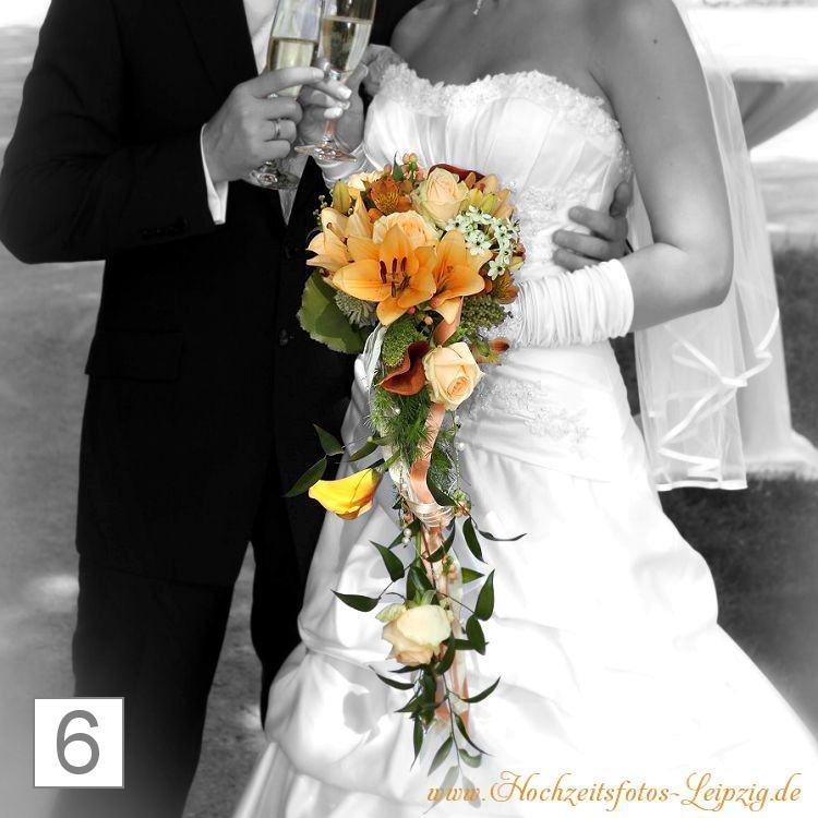 Hochzeitsfoto Brautstrauß Markranstädt (Hochzeitsfloristik)