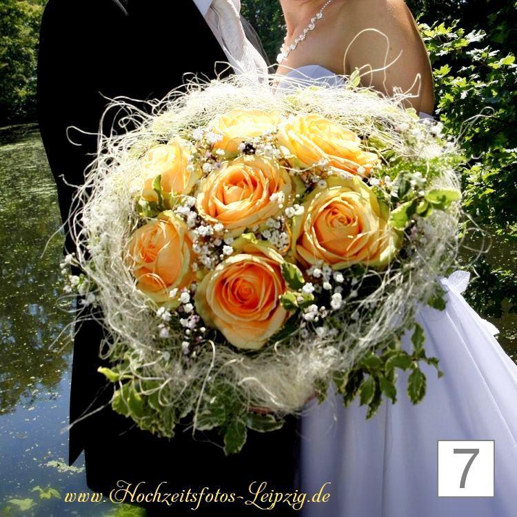 Hochzeitsfoto Brautstrauß Leipzig Connewitz (Hochzeitsfloristik)