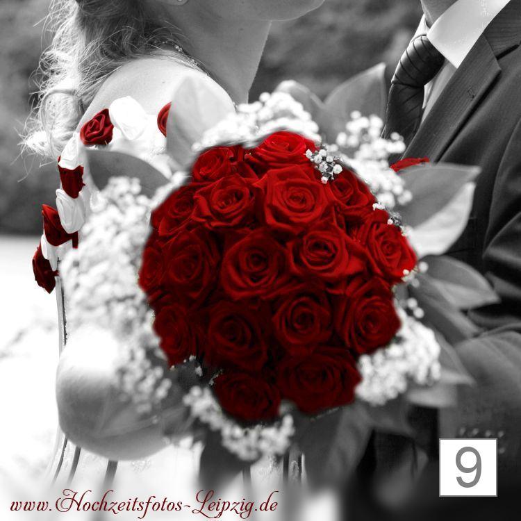Hochzeitsfoto Brautstrauß Machern (Hochzeitsfloristik)