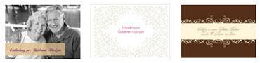 Hochzeitskarten: Einladungskarten & Danksagungskarten