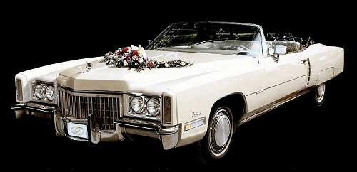 Cadillac Cabrio Hochzeitsauto Leipzig