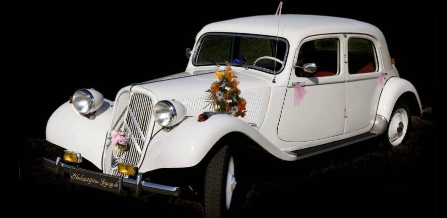 Oldtimer Hochzeitsauto Leipzig